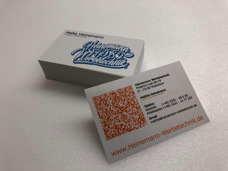 Visitenkarten Und Briefpapier Drucken Lassen In Paderborn