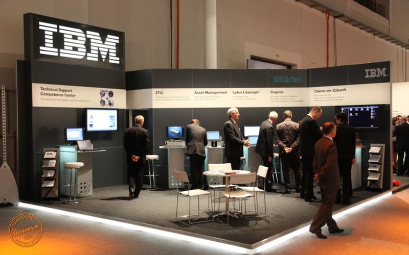Messestand IBM