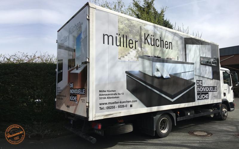 LKW Müller Küchen