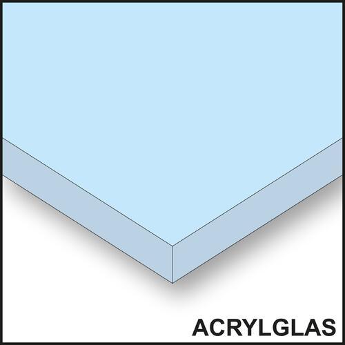 Acryl-/Plexiglas – transparent